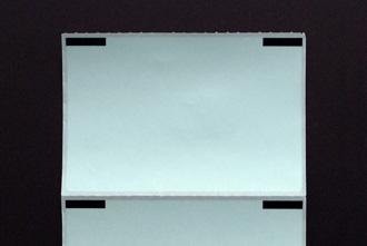 セパレートタイプ感熱ロールラベル裏面の写真